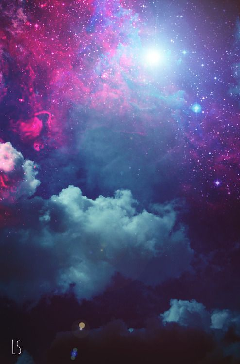 Galaxy #background #space | Light up your Inspire ...