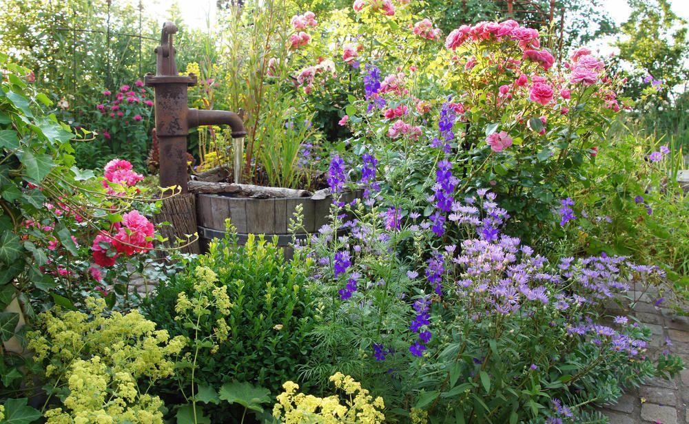 Gartengestaltung Der Romantische Garten Garten Garten Anlegen Romantische Garten