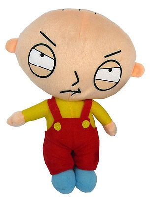 Stewie Griffin 8'' Soft Toy Plush Doll Family Guy TV Serie Cartoon Baby Son