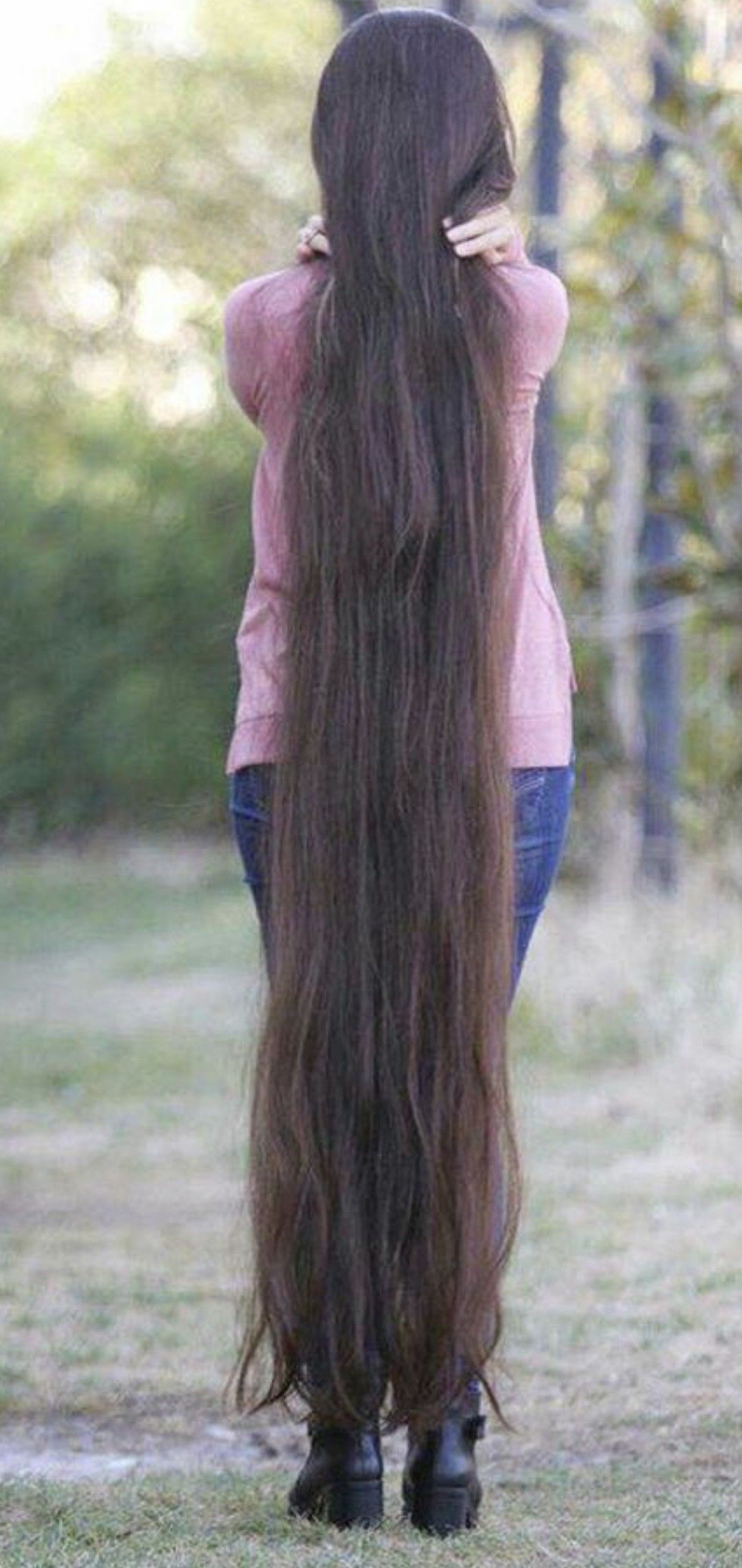 Pin By Harry P On Ankle Length In 2020 Extremely Long Hair