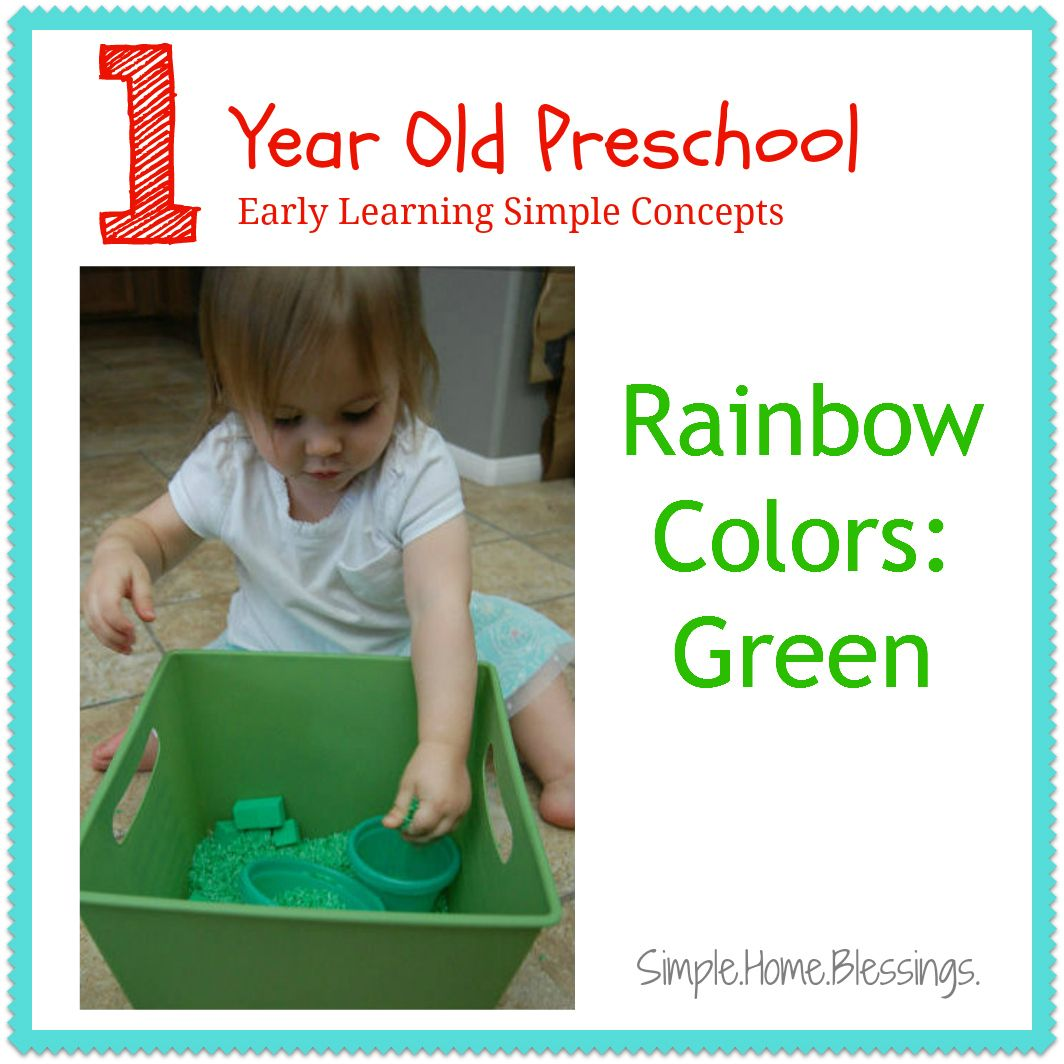 One Year Old Preschool Green