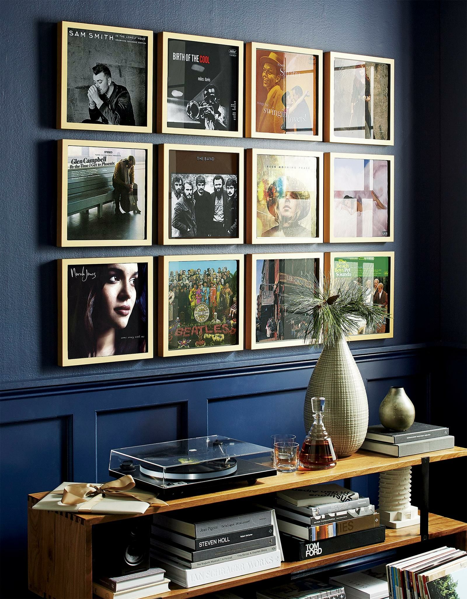 Photos instead of albums dining room | man office | Pinterest ...