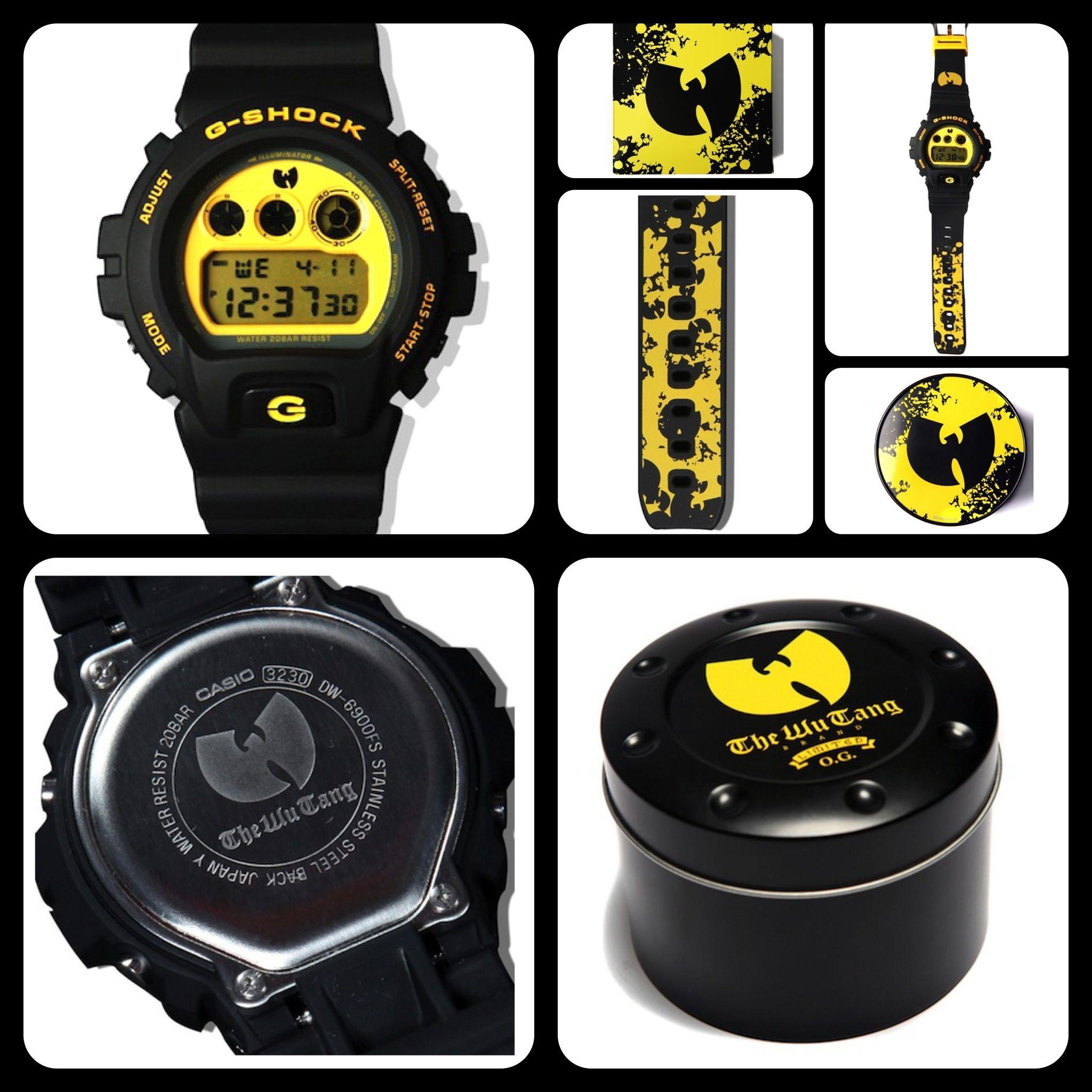 760429ea5a6 G-Shock X Wu-Tang Clan 20th Anniversary