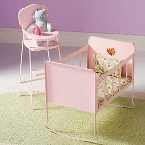 The Land Of Nod Kids Imaginary Play Doll High Chair