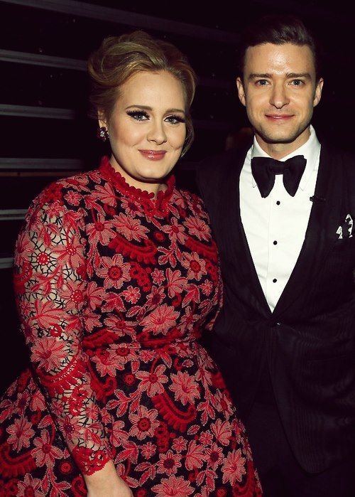 JT AND ADELE!! <3
