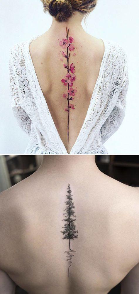 47+ trendy tattoo-ideeën vrouwelijk terug mooi voor vrouwen Check more at https://tatto.husu...
