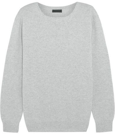 J.Crew - Collection Cashmere Sweater - Light gray | STYLE ...