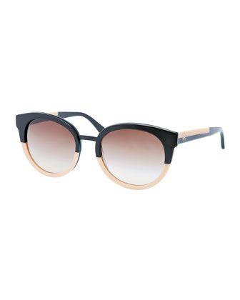 f4ad594b07e Eclectic Two-Tone Sunglasses