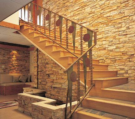 Interior Staircase Feature Wall Autumn Pro Fit