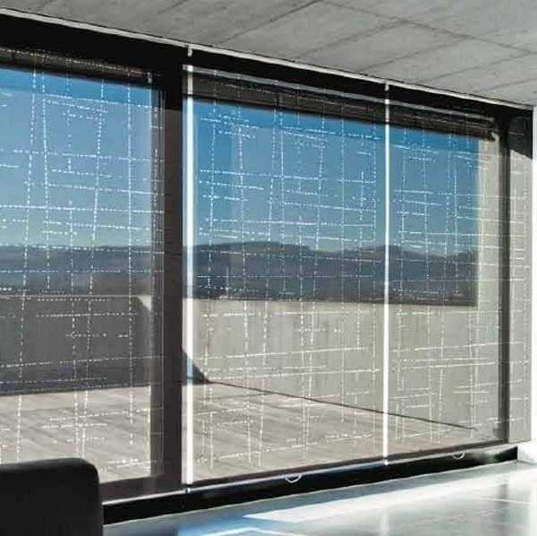 Moderne Rollos rollo transparent ist der neue trend 2016 das rollo ist transparent