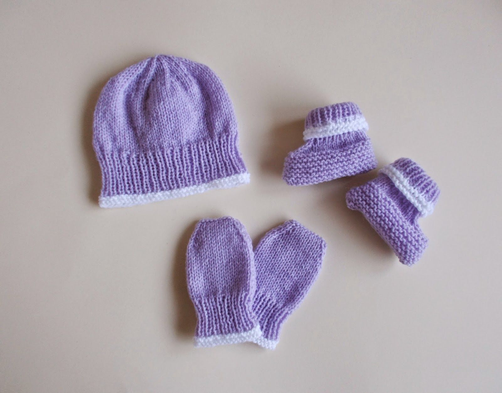 marianna\'s lazy daisy days: Premature & Newborn Baby Hat, Mittens ...