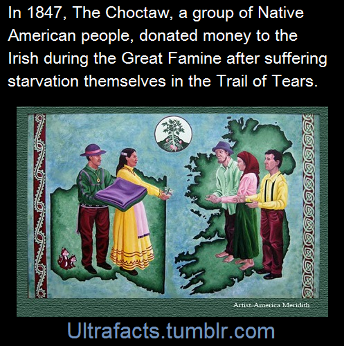 A Group Of Native American Choctaws In  Came Together To Raise Money For The Irish People During The Great Famine It Had Been Just  Years Since The