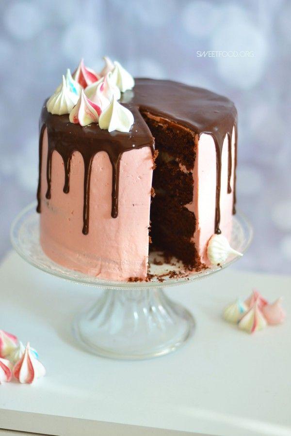 layer cake poire chocolat recettes de base pour cake. Black Bedroom Furniture Sets. Home Design Ideas
