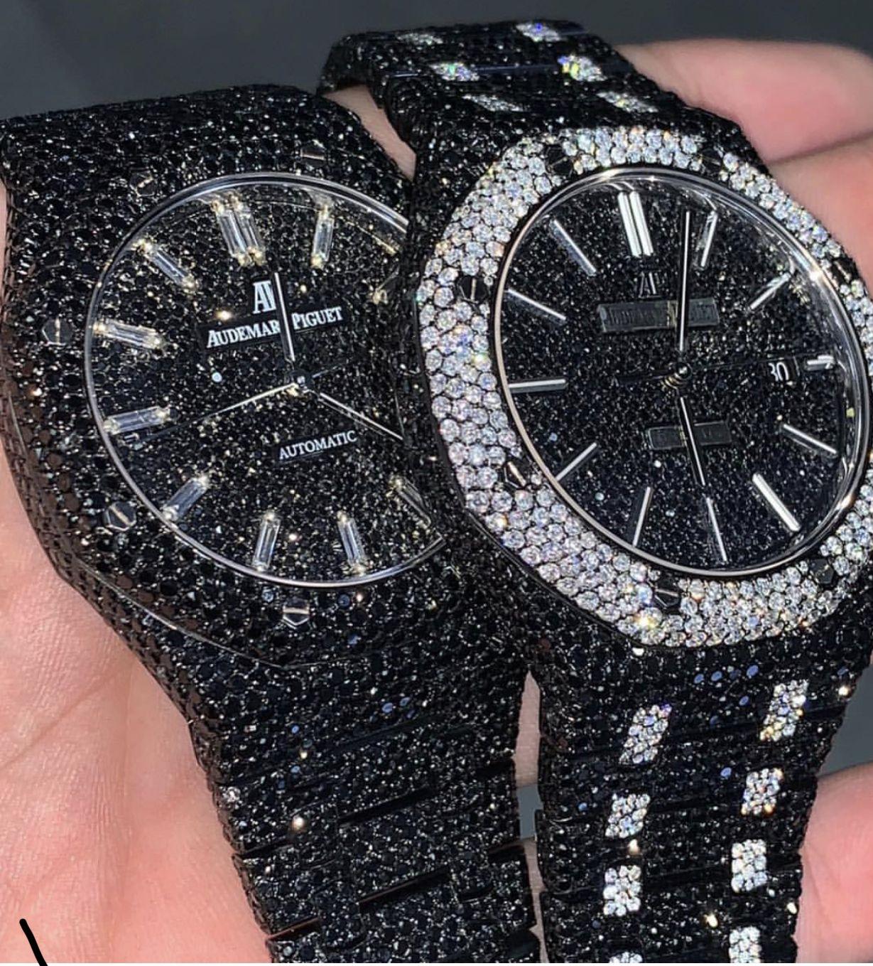 Pin By Isaiah Rubio On Jewllery Diamond Watches For Men Black Diamond Watch Fashion Watches