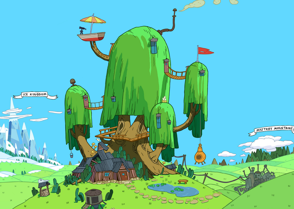 Finn And Jake S Treehouse