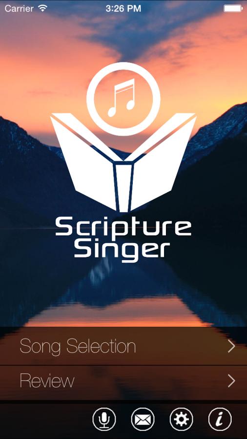 Memorize Bible Scriptures with the Scripture Singer app