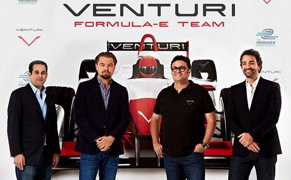 leo dicaprio sponsors formula e team formula e venturi leonardo dicaprio leo dicaprio sponsors formula e team