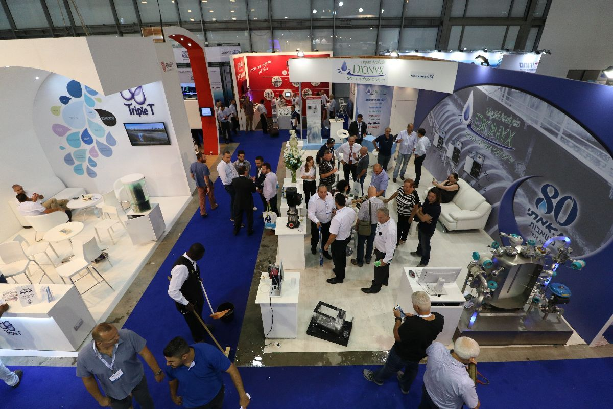 Watec Water Technology Trade Fair And Conference Brand Advertising Luxury Shop Brand