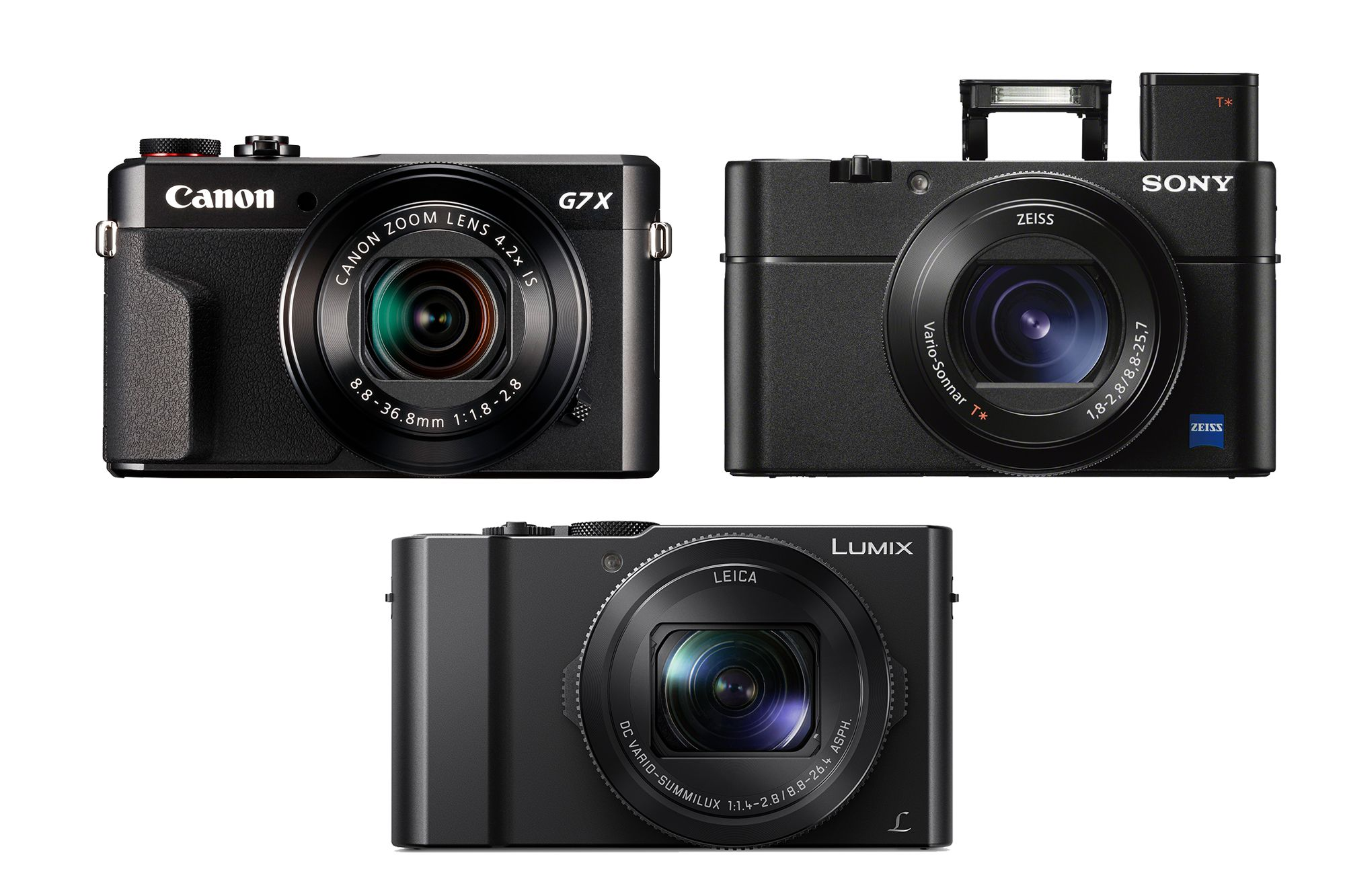 Find out what separates these three premium compact cameras - it\'s ...