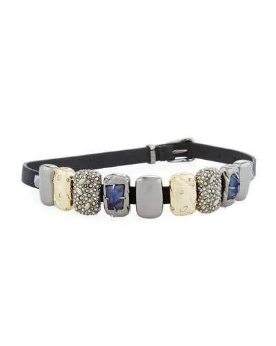Alexis Bittar Multi-Station Leather Bracelet 1HJnD6