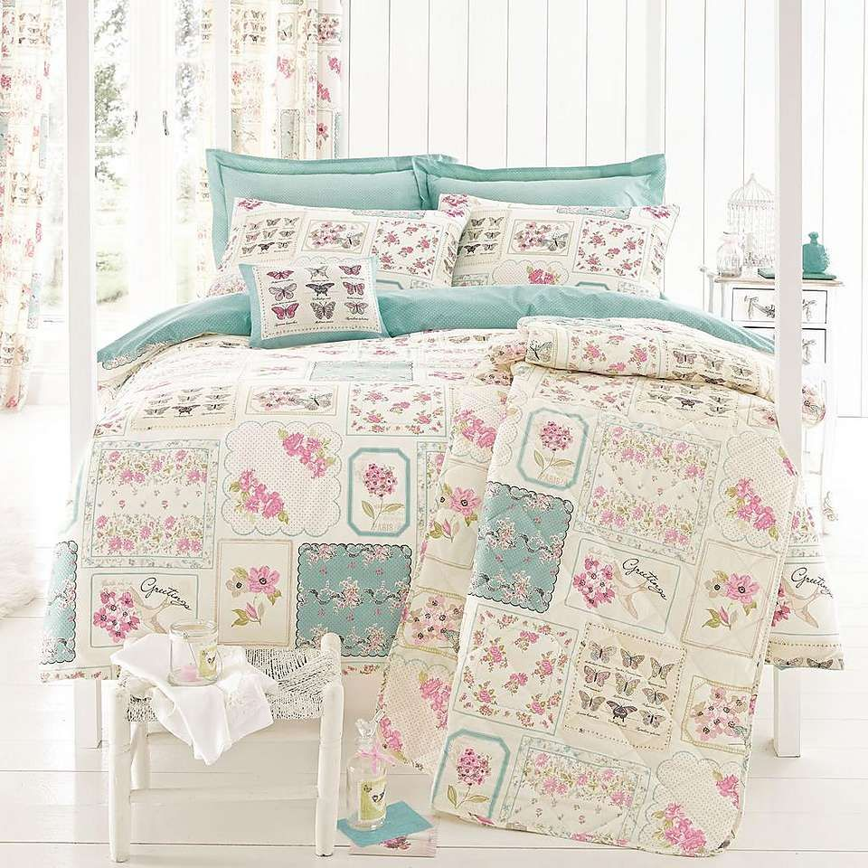 Duck Egg Maison Duvet Cover Set Dunelm Duvet cover