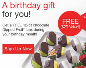 FREE Birthday Gift from Edible Arrangements on http://www ...