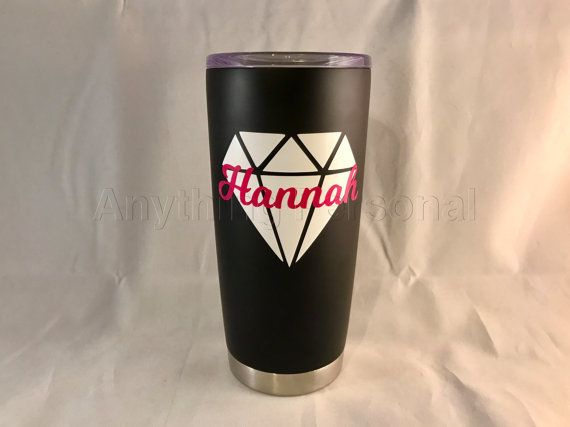 Personalized Stainless Steel Cup Stainless by AnythingPersonal