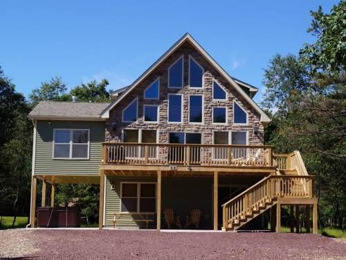 Otter Banks House Albrightsville Pennsylvania Otter Banks House Offers Accommodation In Towamensing Trails Gue Vacation Rental Poconos Vacation House Rental