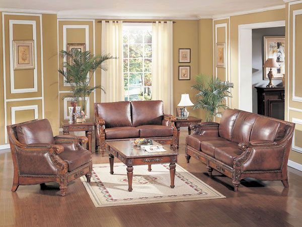 Composing Warm Atmosphere with Traditional Living Room Furniture - Best Home