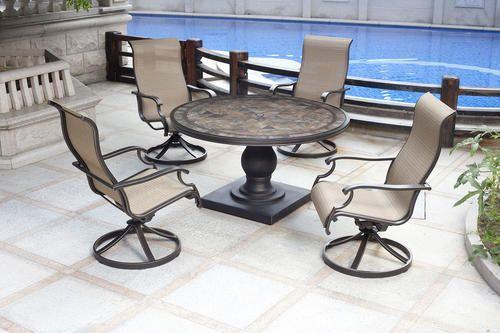 Backyard Creations® Murano 5 Piece Dining Patio Set