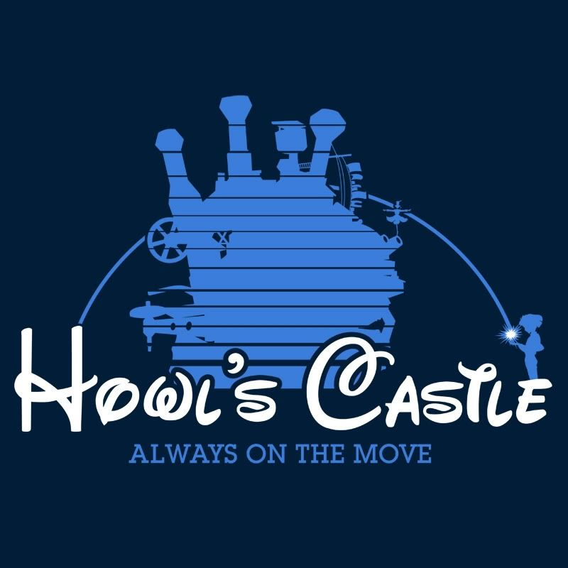 Howl's Castle... I forgot where I found this, but it's pretty funny.