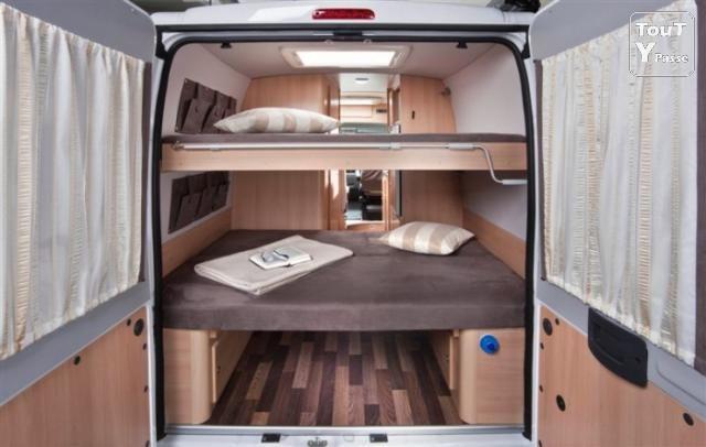 Fourgon amenage 4 places avec lits superposes recherche - Lit superpose 4 places ...