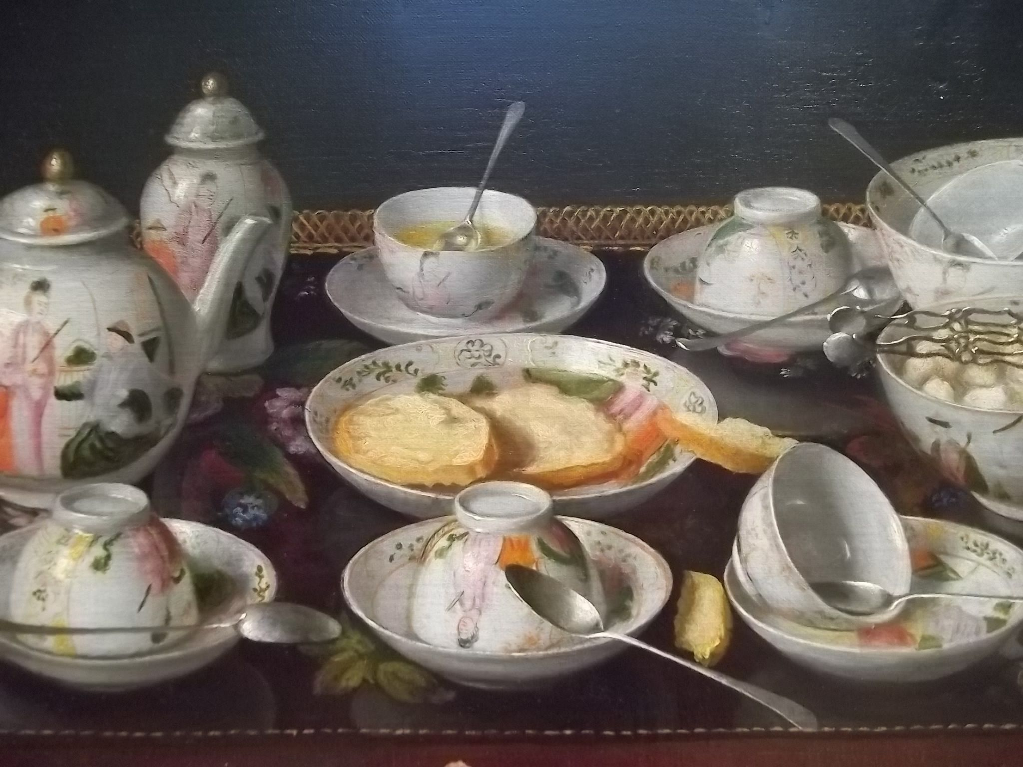Mid 1600's Oranges and Lemons by Jacob Van Hulsdonck -Flemish -Getty Museum Los Angeles