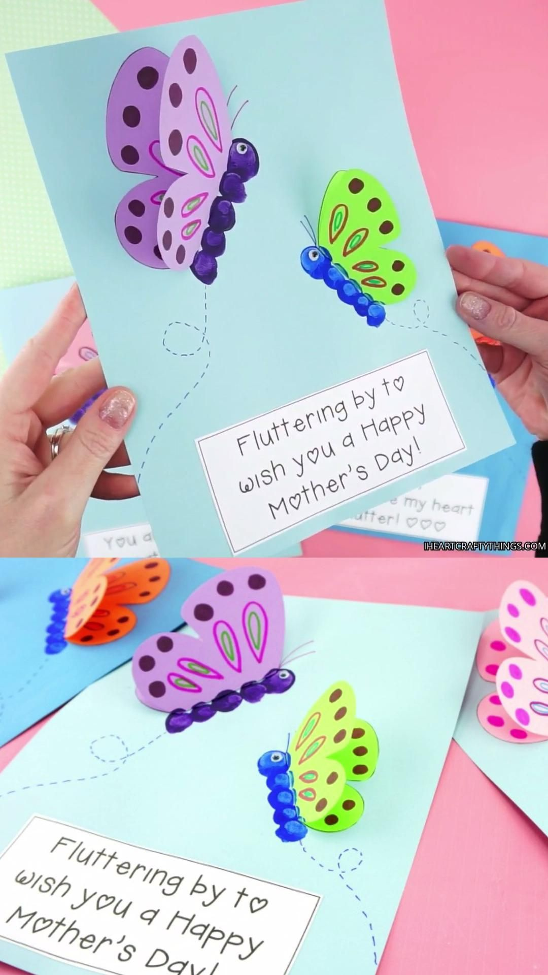 Mother's Day Butterfly Craft for Kids