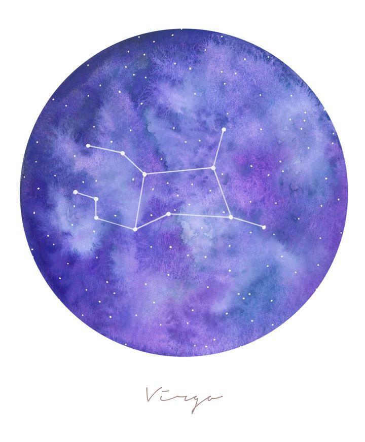 Virgo Horoscope For March 27 2020 Galaxy Art Virgo Virgo Constellation