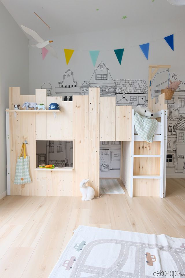 DIY Hochbett: Ein Spielbett für kleine Abenteurer | dekotopia
