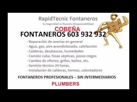 Fontaneros Cobena 603 932 932 Fontaneros Cobena 603 932 932