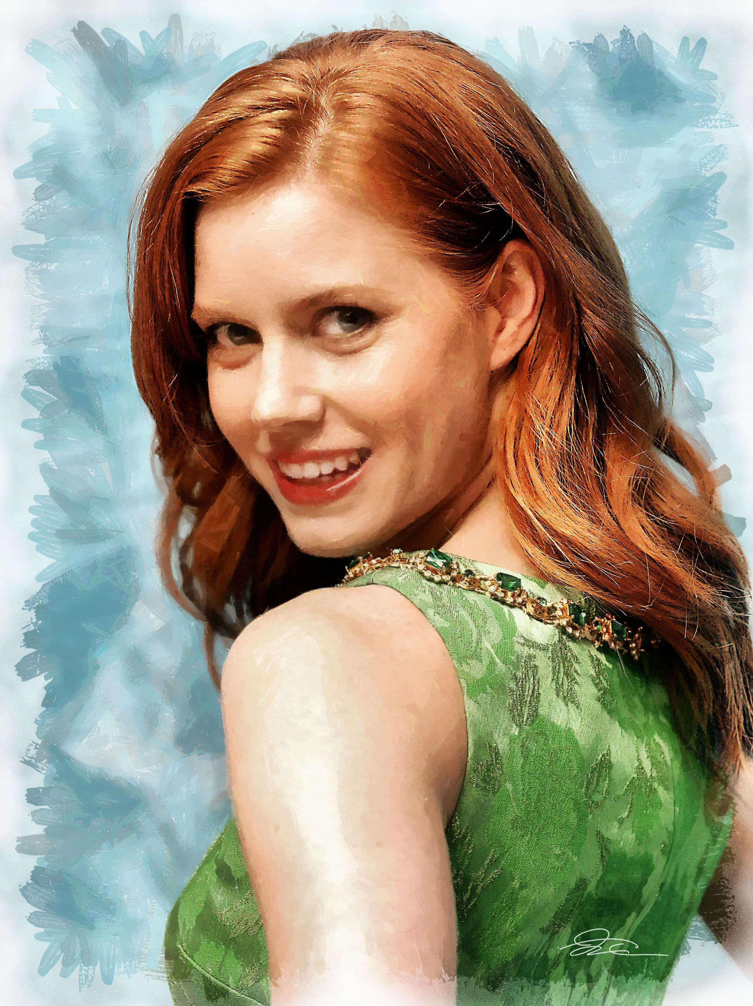 Amy Adams Again Get The Color Tracey Cunningham Redken Creative