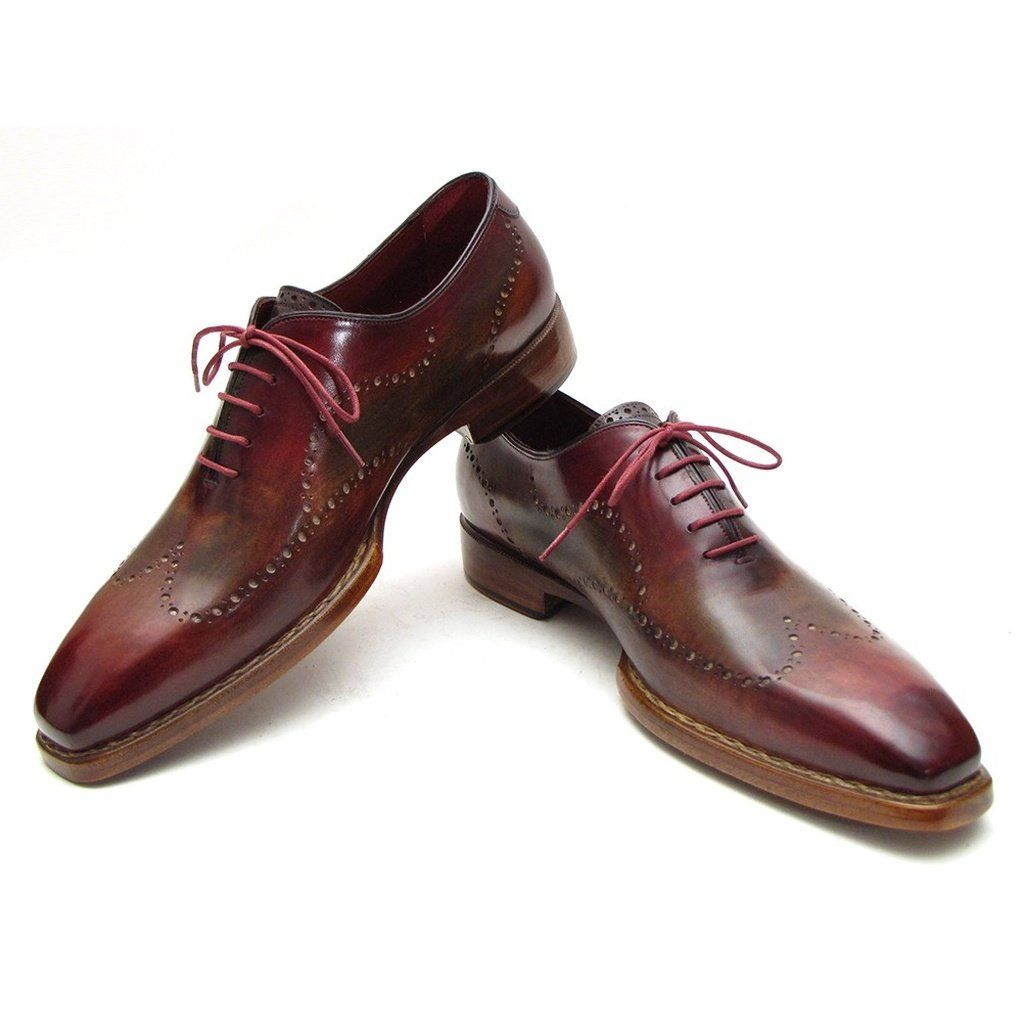 4df12a955c15e Wingtip oxford handmade brogues Goodyear welted, double leather sole  Bordeaux & Camel hand painted leather upper Bordeaux leather lining. This  is a ...