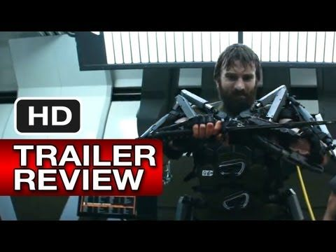 Instant Trailer Review - Elysium Official Trailer #2 (2013) - Matt Damon, Jodie Foster Sci-Fi Movie HD - YouTube