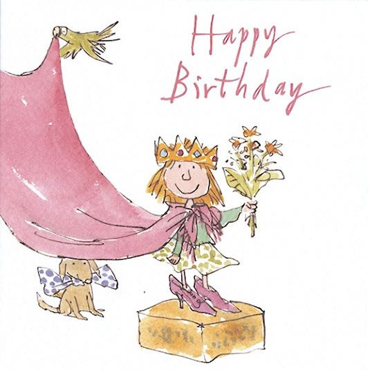 Quentin Blake Illustrations, Birthday