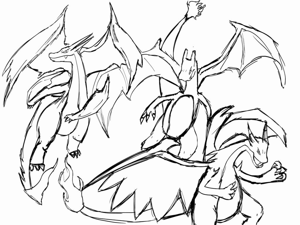 32 Mega Charizard X Coloring Page Pokemon Coloring Sheets