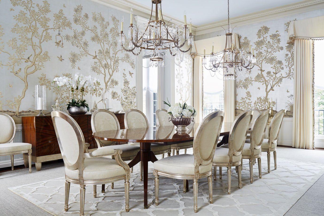 Kelley Interior Design Dining Room Dining Transitional by Kelley