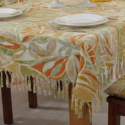 American Country Tablecloth/fabrics /Cotton And Linen Tablecloth Western/ Fringed  Table Cloth