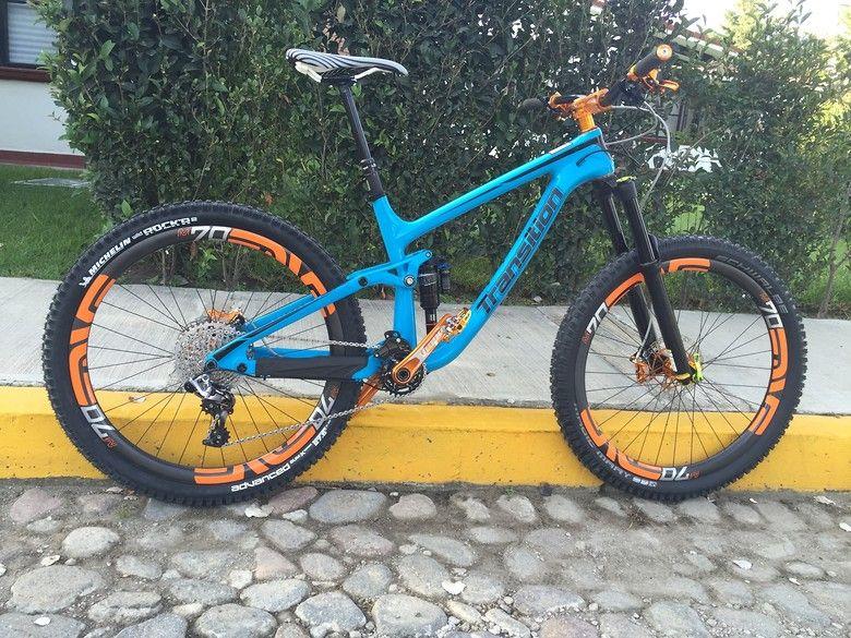TRANSITION PATROL CARBON - Samuel_Zorrilla's Bike Check - Vital MTB