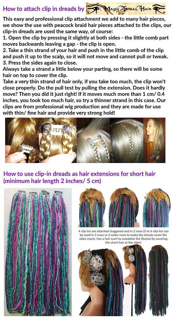 Tribal Brights Hair Dread Wrap
