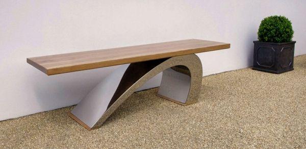 Moderne Gartenbank Designs - Tolle Außenmöbel für den Garten