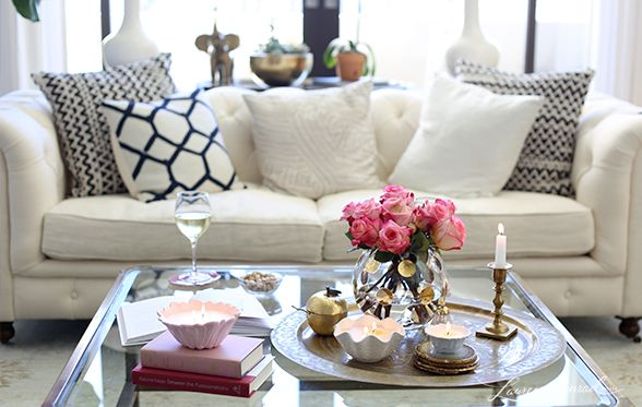 How To Decorate Your Coffee Table With Candles