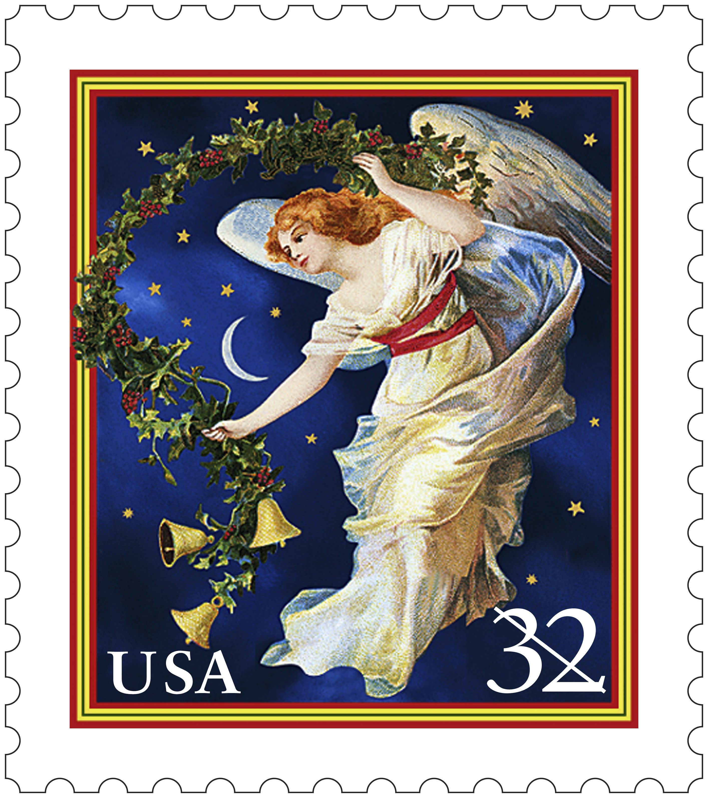 Wow, this is beautiful! This is the Midnight Angel stamp