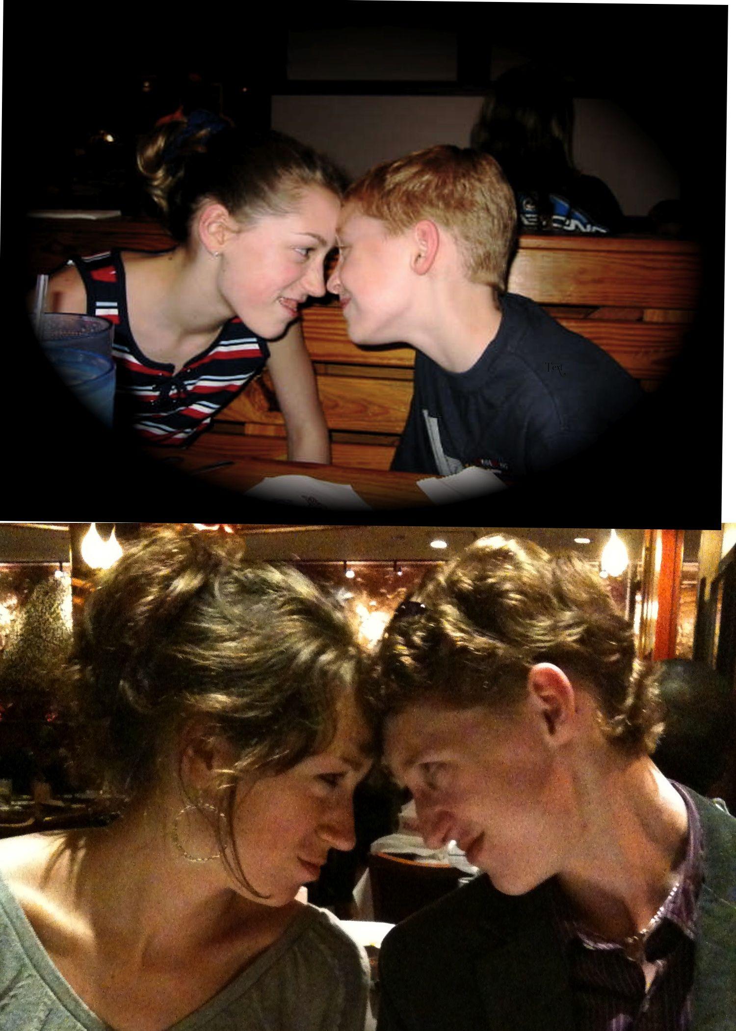 sibling 4 years apart relationship